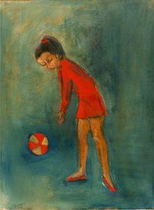 Leili Mohseni peintre