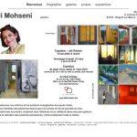 ancien site Leili Mohseni peintre